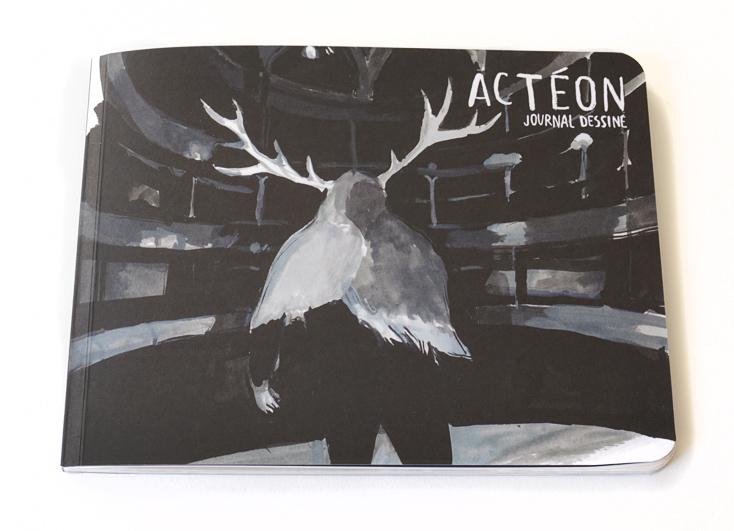 Actéon – journal dessiné
